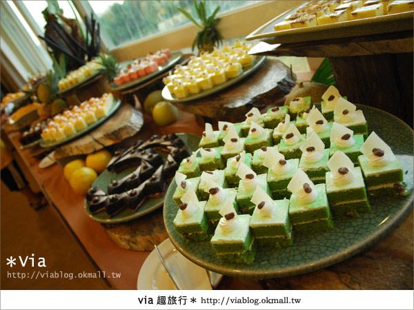 【新竹旅館】關西六福莊生態渡假旅館~餐食篇12