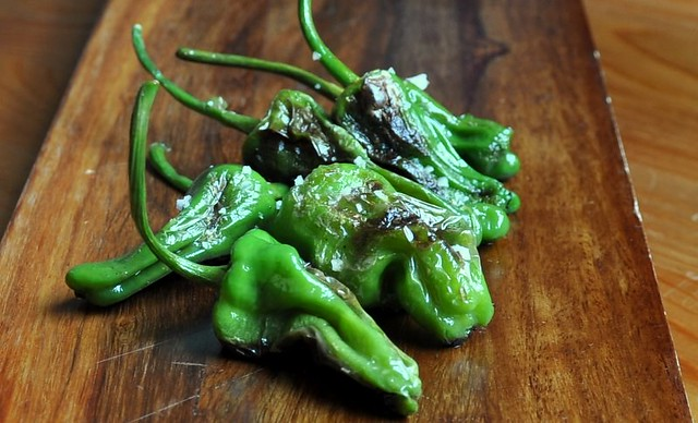 4883808327 3df37cc688 z Grilled Padron Peppers   Lost and Found