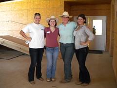 MANE's cowgirls: Wubbie, Audrey, Kim & Anne Alan (Montgomery Area Nontraditional Equestrians (MANE)) Tags: