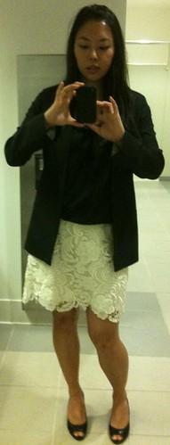 forever21laceskirt