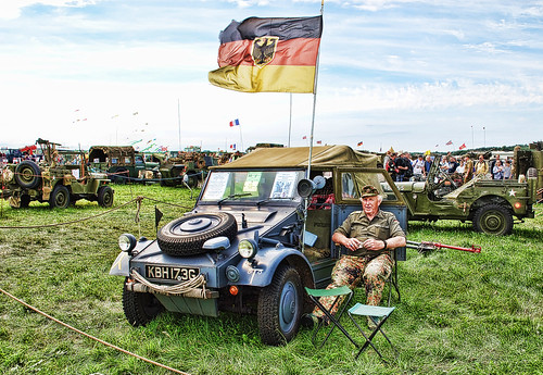 WOODVALE RALLY 2010 ~ MILITARY VEHICLES : DEUTSCHLAND.
