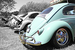 Victoria Volkswagen Club 1 HDR (Evan Godo) Tags: canada window vw port canon bug eos rebel interestingness interesting bc beetle explore turbo dual hdr oval 1959 1965 xsi 1600cc 450d volkswaggen