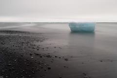 washed ashore (jeff hildebrand) Tags: longexposure blue landscape iceland glacier iceberg jokulsarlon nikond3s