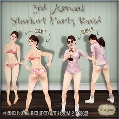 Starlust Panty Raid!