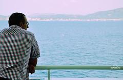 (nemenfoto) Tags: sea costa color mar mediterranean mediterraneo barco verano estiu barandilla vaixell balears mediterrani