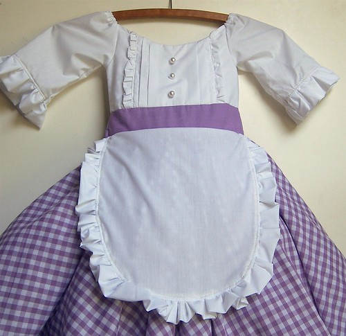 19th Century Inspired Dress Costume