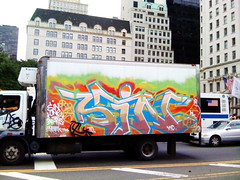 Sin (Into Space!) Tags: street nyc newyorkcity urban ny newyork art truck canon graffiti photo intospace intospaces