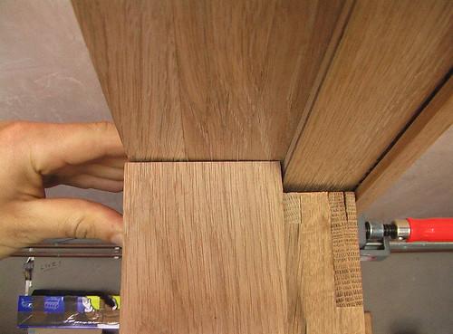 passive door in frame fit