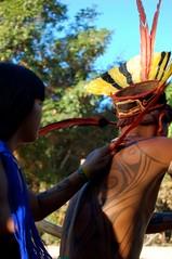 DSC_1079 (semente33) Tags: india xingu ritual terra sul indio tribo aldeia pachamama americano goias indigena cantos paje xama kayaps yawalapitis triboarcoiris