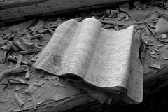 Prypjat / ' (Ukraine) - Book in Hotel Polissja (Danielzolli) Tags: nuclear ukraine atom nuklear catastrophe chernobyl ukraina ucrania gau ukrajina nucular reaktor tschernobyl nukular ucraina  pripyat  prypyat  tschornobyl supergau cernobyl pripjat cornobyl   pripet   pripjat