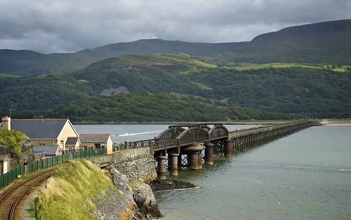 Last Look At Barmouth Bridge
