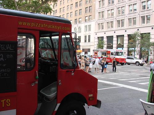Two Pizza Trucks