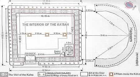 4893344181 8164358b87 (16 Muharram) Pembersihan Kaabah Mekah