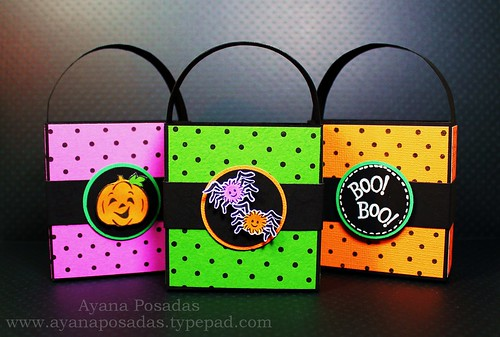 Halloween Polka-Dot Treat Bags (1)