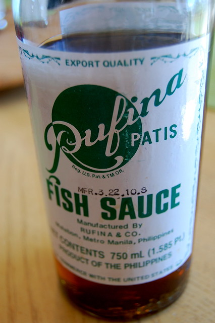patis (fish sauce)