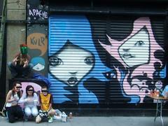 shutters-apache (KVLR1) Tags: street streetart fun apache sunday belfast queen upper shutters aerosol spoom kvlr