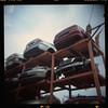 (19/77) Tags: film car toycamera stack malaysia 1977 negativescan scarp mediumfromat holgacfn120 kodakektacolorpro160 autaut canoscan8800f myasin