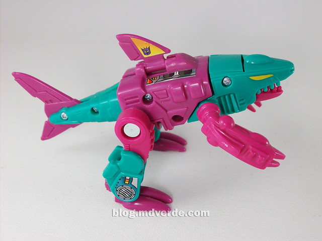 Transformers Overbite G1 Reissue - modo alterno