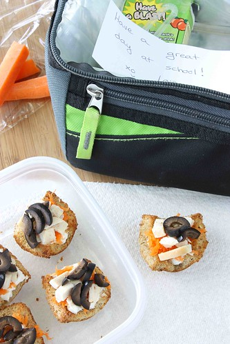 Back to School Chicken, Olive & Herbed Cream Cheese Sandwich Cups Recipe