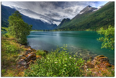 Jostedalsbreen Nasjonalpark (Mariusz Petelicki) Tags: norway norge fiord hdr 3xp norwegia jostedalsbreennasjonalpark mariuszpetelicki