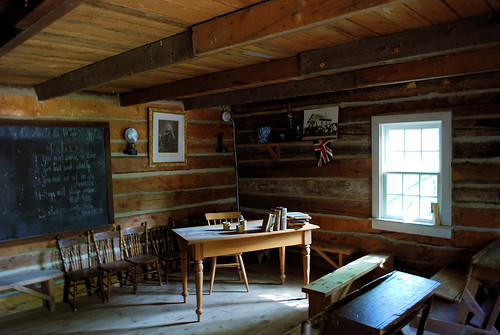 1885 Canadian Schoolroom