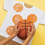 Basketball T-shirt (Courtesy Family Fun Magazine)