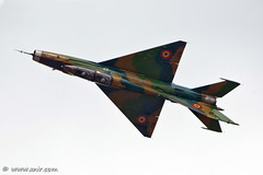 Romanian  Air Force Mikoyan-Gurevich MiG-21UM Lancer B, repulonap.hu Hungarian air show (xnir) Tags: show canon photography eos israel hungary photographer force aircraft aviation military air lancer romanian hungarian nir mig21  benyosef kecskemet mikoyangurevich replnap xnir kecskemti  repulonaphu photoxnirgmailcom
