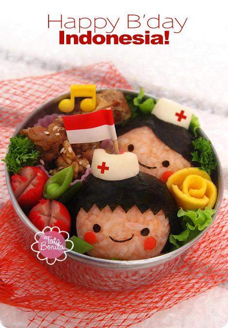 Happy B'day Indonesia!