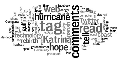 Katrina 5.0: A Symposium on Technology & Blogging