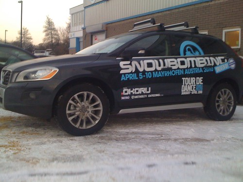 SnowBombing Vehicle Graphics