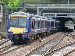 170394 Edinburgh Waverley 020810 (Dan86401) Tags: 170394 class 170 1703 bombardier turbostar first scotrail dmu dieselmultipleunit edinburghwaverley class170
