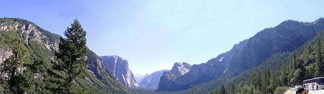 Yosemiti Panorama
