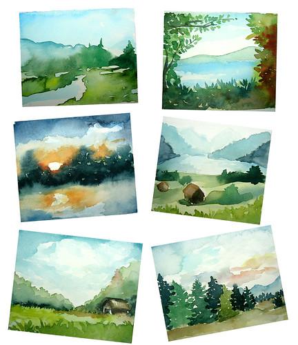 paisajes