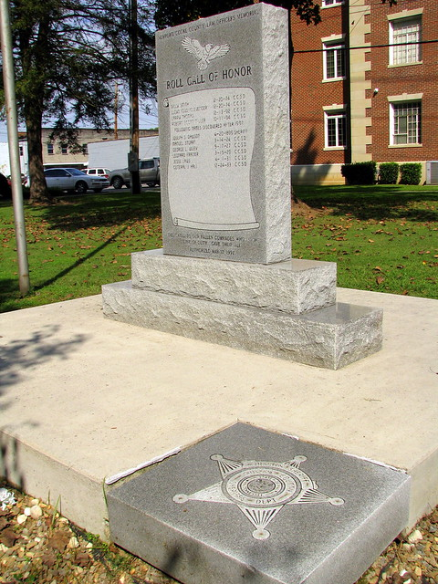 Newport Police Office Memorial