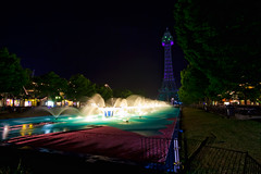 The Crescendo - Kings Island (Carl Van Rooy Photography) Tags: park ohio vortex tower island amusement fireworks mason fair kings cedar beast fountains kingsisland sonofbeast racer diamondback paramounts adventureexpress cedarfair