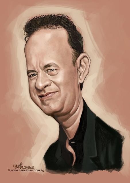 Schoolism - Assignment 1 - Caricature of Tom Hank