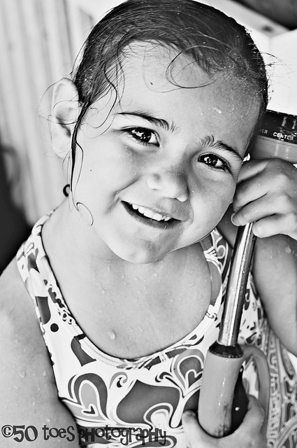 Avonleigh with sprinkler BW BLOG 8-13-10