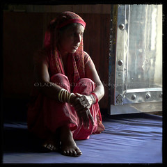 In the Dust of the Lord's Feet (designldg) Tags: door portrait people woman india square temple photography peace expression religion silk atmosphere fabric soul elder devotion sikh gurdwara spiritual shanti gwalior dignity sikhism contrejour backlighting garment madhyapradesh भारत