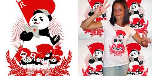 Panda Revolution Tee