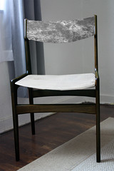 Danish Chair - Idea - Gray Tie Dye
