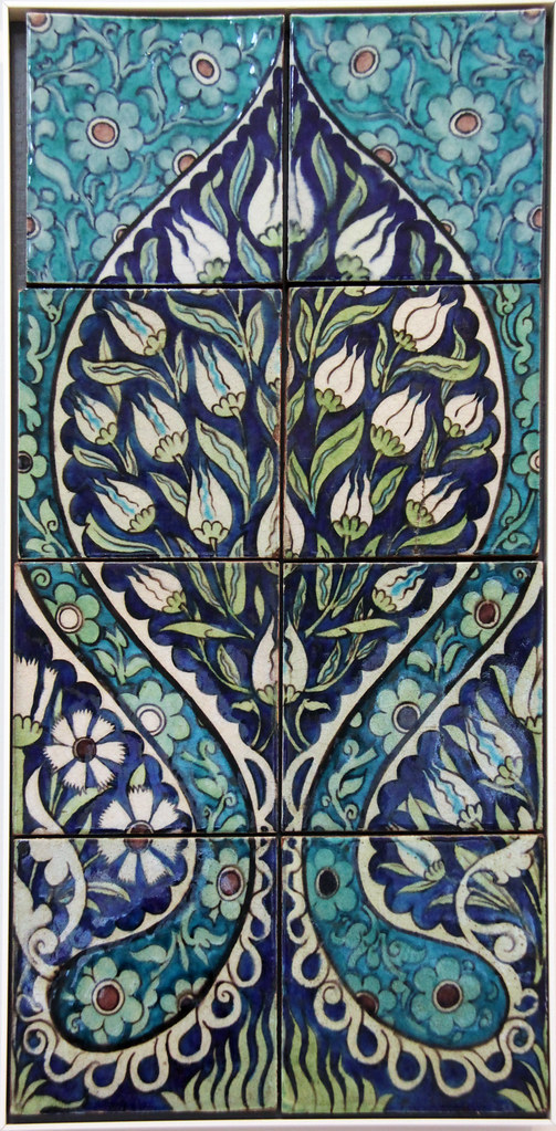 Tile panel - William De Morgan