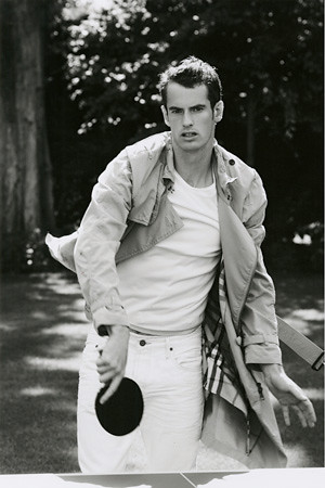 Andy Murray in Vogue Magazine