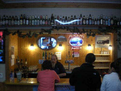 Tasting room at AK Brewing Co.