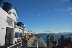 Ferry from Victoria, BC to Vancouver, BC, Canada