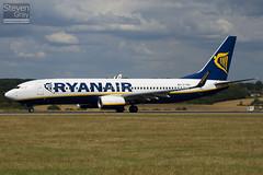 EI-EBL - 37529 - Ryanair - Boeing 737-8AS - Luton - 100805 - Steven Gray - IMG_1237