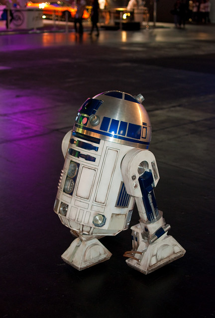 R2D2 at Gamescom