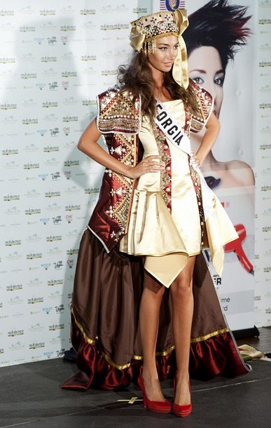 National Costume of Miss Georgia