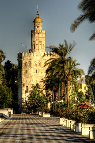 Seville. Torre del oro. Sevilla