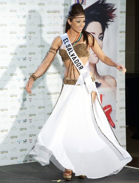 National Costume of Miss El Salvador