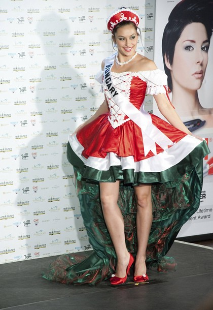 National Costume of Miss Hungary